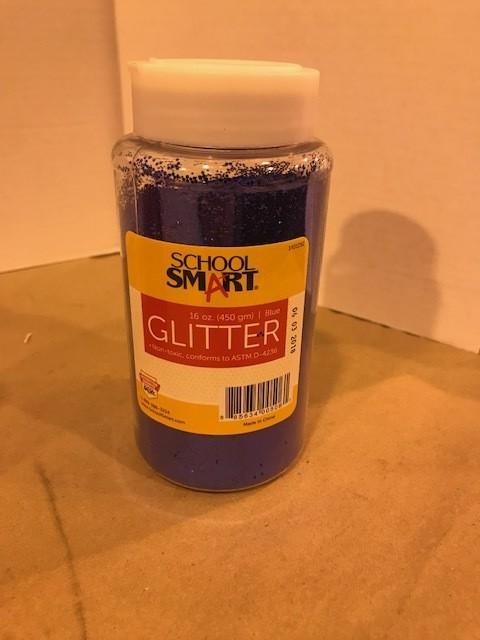Glitter, Blue, Extra Fine, 1lb/btl