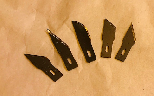 Blades, Assorted Cutting Tips, for Kraft Knives (#0145305)