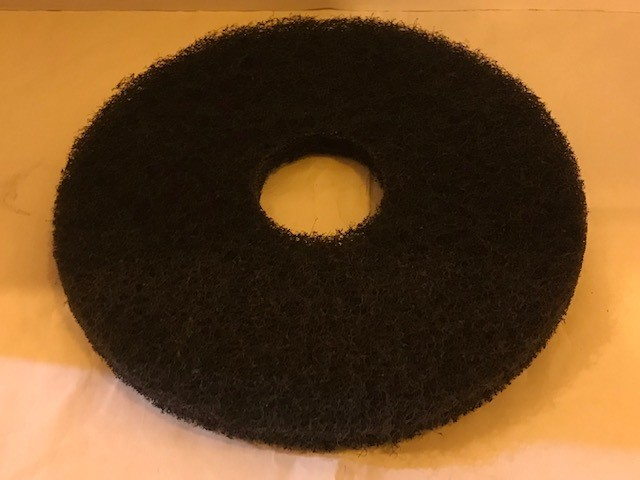 "PAD, STRIPPING 13"" BLACK FITS NOBLES AUTOSCRUBBER 2601"