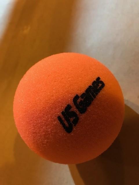 "Foam Ball, regular, uncoated, 4"""