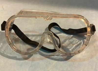 GOGGLES, SAFETY CLEAR LENS CONDOR 1VT67