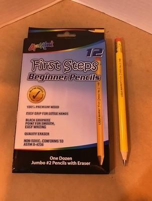 Pencils, #2 pencil W/erasers, 2nd Grade