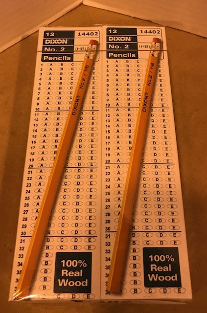 Pencils #2, Tipped, 6 doz/pk
