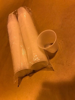 Cup, Plastic, Cold, 5 oz.: Cup, plastic, translucent