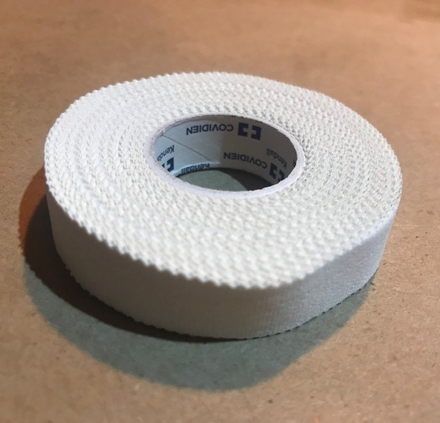 "Tape, Adhesive Cloth, 1/2"" x 10 yds./Roll, Medical (Factory Sealed Roll)"