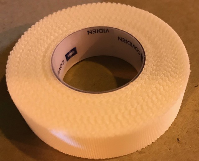 """Tape, Adhesive, Water Resistant, 1/2"""" x 10 Yards, Hypo-Allergenic, Latex Free Adhesive"""