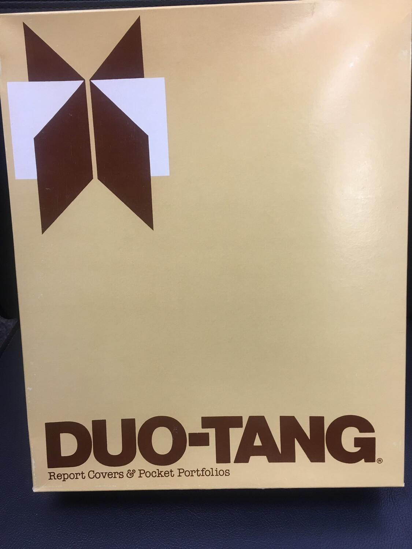 FOLDER, DUO-TANG, W/O POCKETS WITH TANG FASTENERS, 25/BOX, #52258