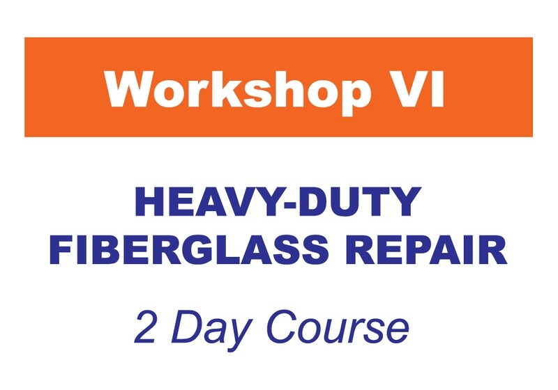 Workshop 6 - Heavy-Duty Fiberglass Repair