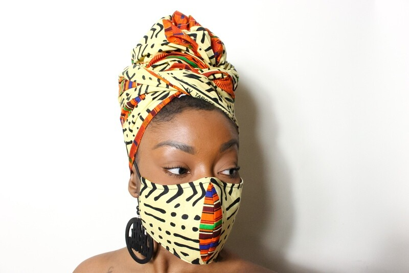 Mama Afrika (Mask & Headwrap Combo)