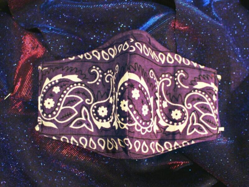 Purple Paisley (Reversible)