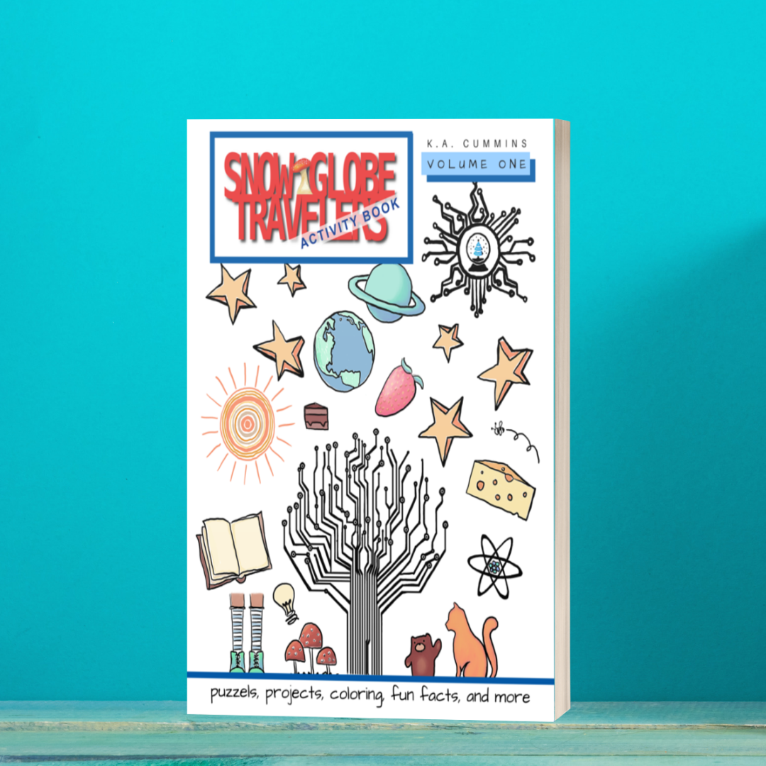 Snow Globe Travelers Activity Book: Volume One (autographed paperback)