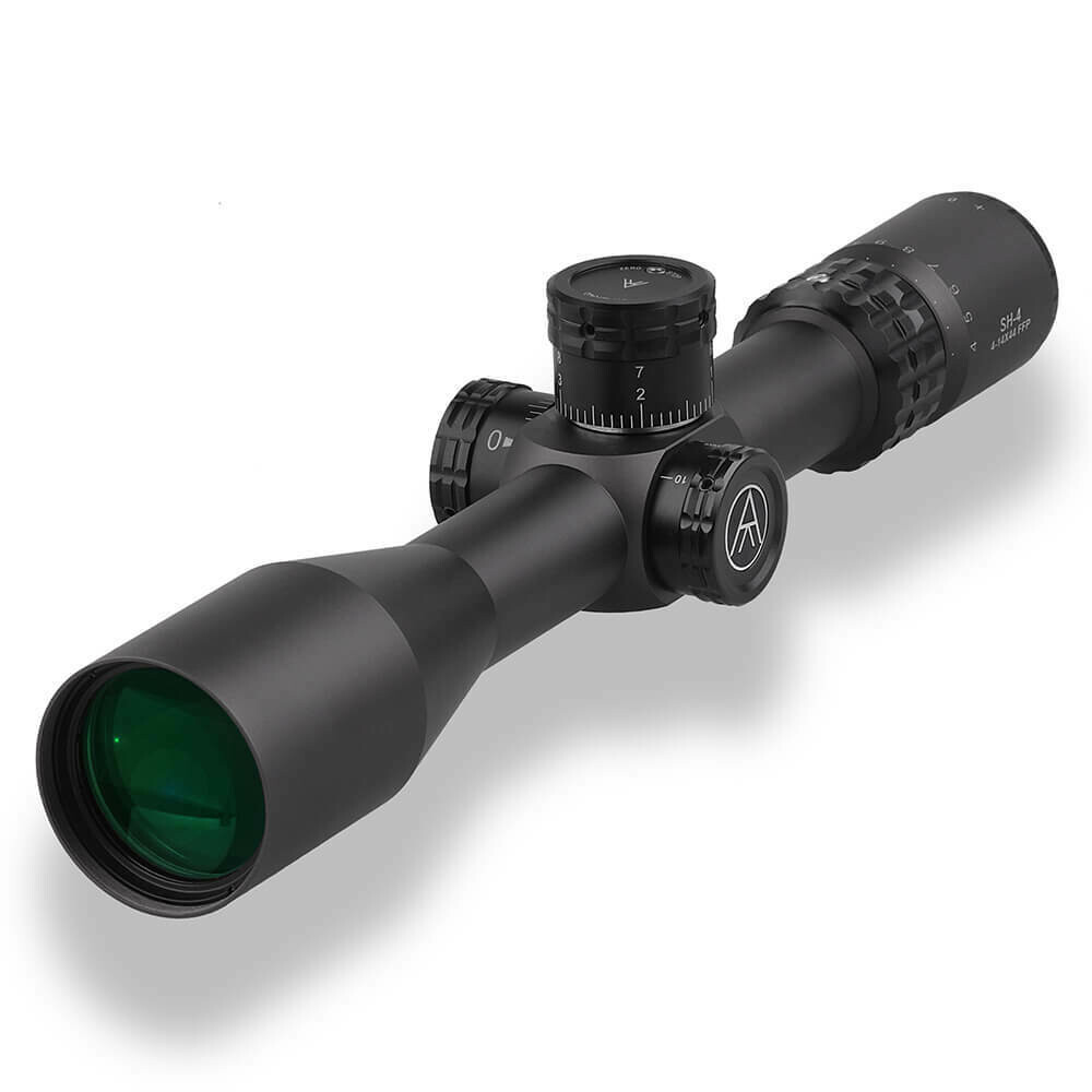 SH4 4-14X44 FFP MIL SHR Reticle with Zero Stop - 30mm Tube