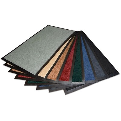 Non-Slip Indoor Mat - Solid Colour