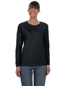 Gildan Ladies' Heavy Cotton™ 5.3 oz. Long-Sleeve T-Shirt