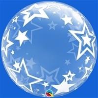 24 inch DECO BUBBLE STARS