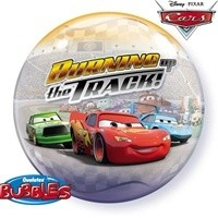 22 inch BUBBLES Disney Cars Burning up the Track