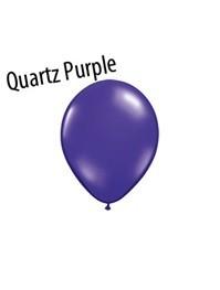 11 inch Qualatex QUARTZ PURPLE, Price Per Bag of  25