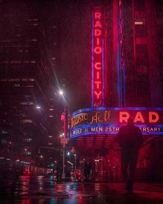 NEW YORK CITY NIGHT 1