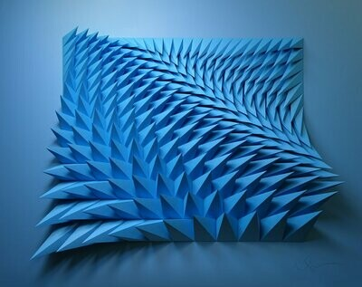 Geometric Paper Sculpture 01 (Title unspecified)
