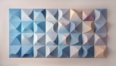 Geometric Paper Sculpture 04 (Title unspecified)