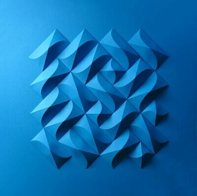 Geometric Paper Sculpture 05 (Title unspecified)