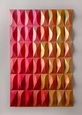 Geometric Paper Sculpture 07 (Title unspecified)