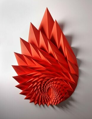 Geometric Paper Sculpture 11 (Title unspecified)