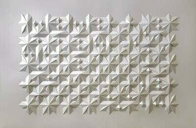 Geometric Paper Sculpture 18 (Title unspecified)