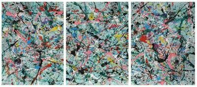 DRAFTING A NEW LIFE 02 (TRIPTYCH)