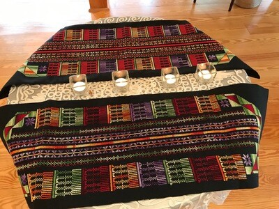 Embroidered Table Runners by Bedouins in Israel