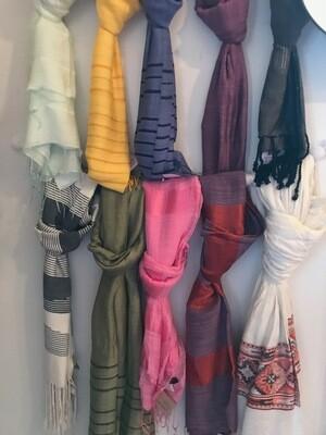 Handmade Scarves - Egypt, India, Vietnam