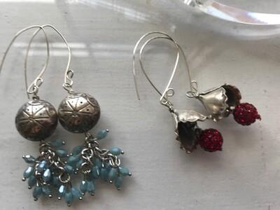 Sterling Silver Earrings - VDesigns