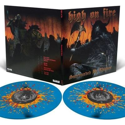 High on Fire - Surrounded By Thieves - 2LP - Sea Blue with Splatter.