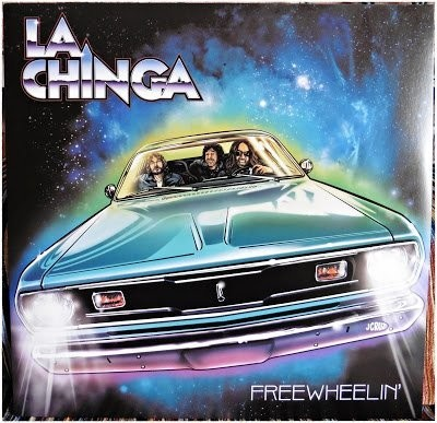 LA CHINGA - FREEWHEELIN  - LP