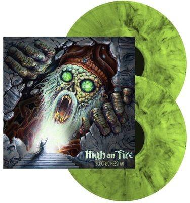 High On Fire - Electric Messiah - 2LP - Splatter Verde.