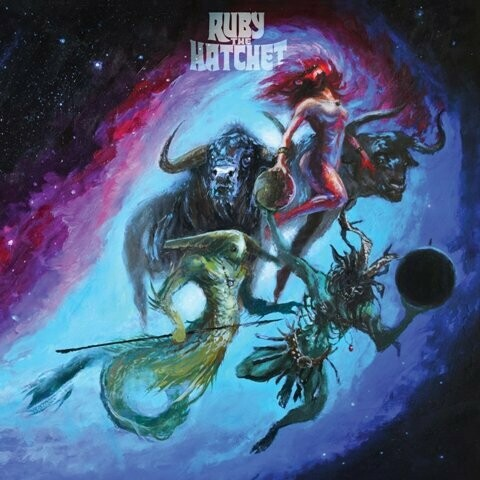 Ruby The Hatchet - Planetary Space Child - (Azul)