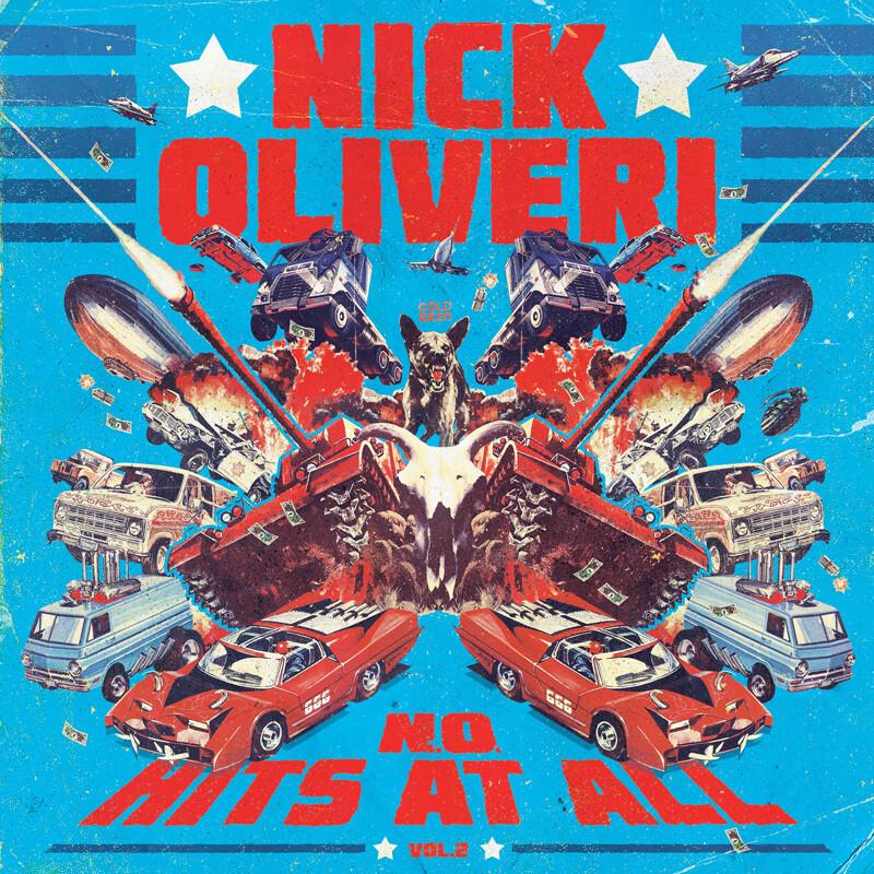 NICK OLIVERI - N.O. HITS AT ALL - VOL.2  - LP