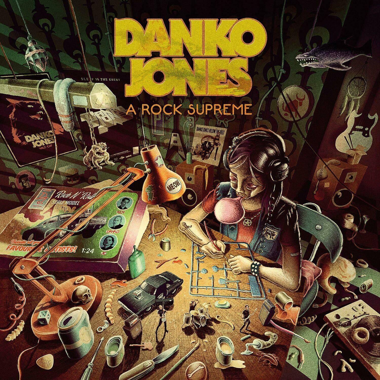 Danko Jones - A Rock Supreme (Uk Exclusive Burgundy Vinyl)  - LP