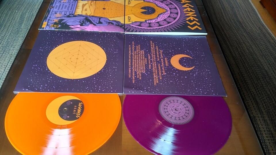 Sageness - Akmé (Naranja Translúcido)  - LP