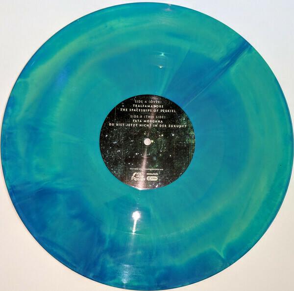 Mammoth Weed Wizard Bastard- Yn Ol I Annwn (Green/blue Vinyl) - LP