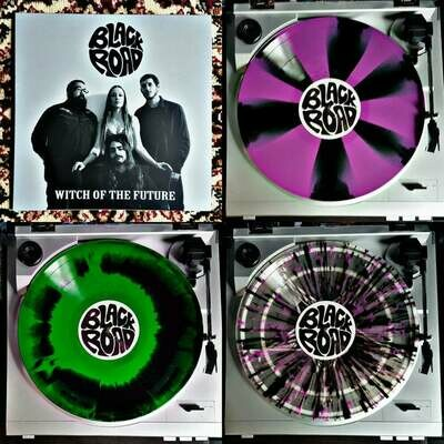 Black Road - Witch of the Future  (Splatter) Radiation Edition