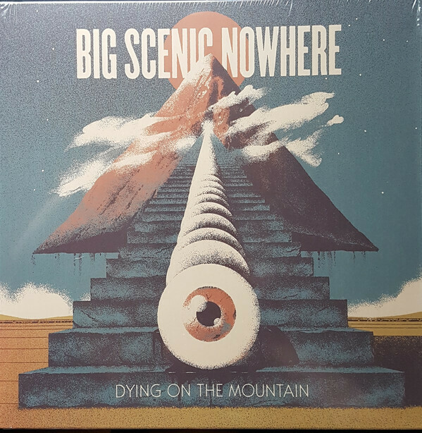 "Big Scenic Nowhere - Dying On The Mountain 12"" (azul)"