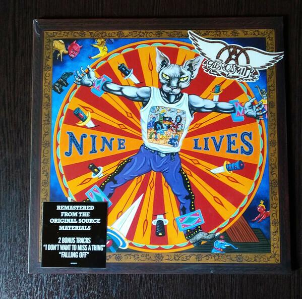 Aerosmith - Nine Lives -2LP (2019 Reissue + Bonus Tracks)