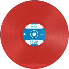 DOZER - IN THE TAIL OF A COMET - (Red) LP