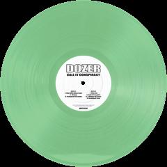 DOZER - CALL IT CONSPIRACY - (Green) 2LP