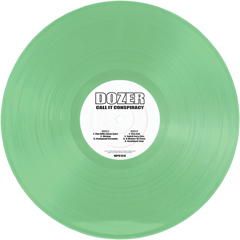 DOZER - CALL IT CONSPIRACY - (Green) 2LP