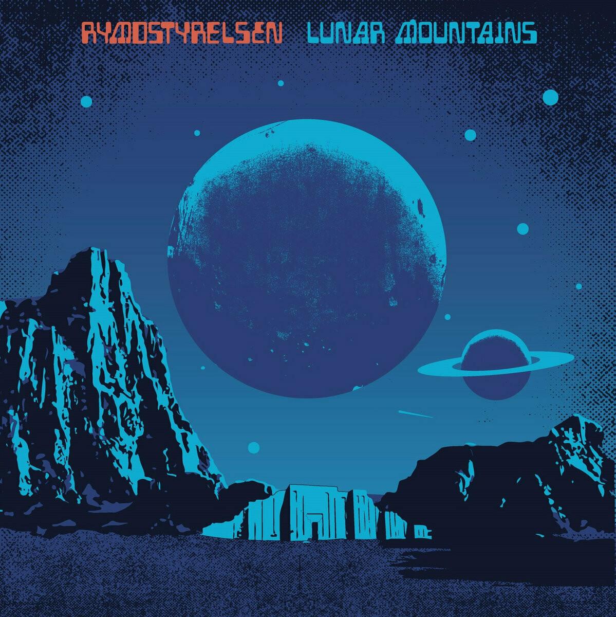 Rymdstyrelsen - Lunar Mountains - LP (Electric Blue)