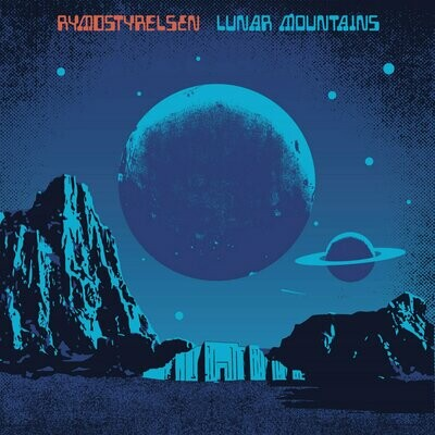Rymdstyrelsen - Lunar Mountains - LP (Electric Blue)