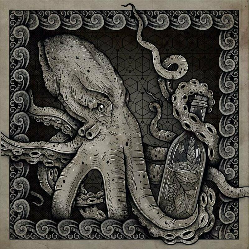 HUMULUS - The Deep (blue/green split + white splatter) LP *BAND EDITION* - PreOrder