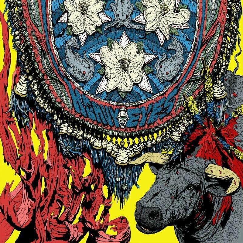 HEAVY EYES, THE - Maera (transparent red) LP - PreOrder